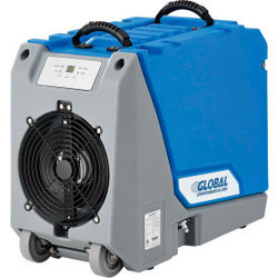 Global Industrial Crawl Space Commercial Dehumidifier With Pump, 90 Pint Output