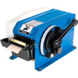 """Global Industrial Water Activated Tape Dispenser for 4"""" W Tape, Blue"""