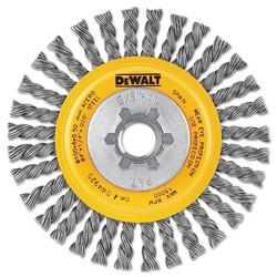 Stringer Wire Wheel, 4 in Dia., 0.02 in Carbon Wire, 20,000 Rpm
