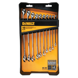 10 Piece Combination Wrench Sets, Metric