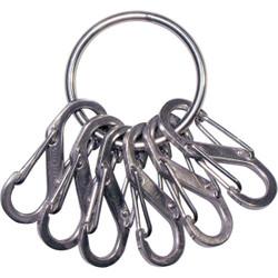 Nite Ize Stainless Steel Key Ring Key Chain KRGS-11-R3