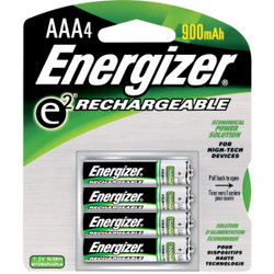 Energizer Recharge AAA NiMH Rechargeable Battery (4-Pack) NH12BP-4
