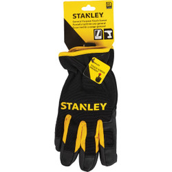 Stanley Men's XL Synthetic Fabric Touch Screen High Performance Glove S77634