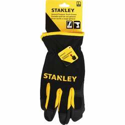 Stanley Men's Large Synthetic Fabric Touch Screen High Performance Glove S77631