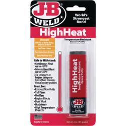 JB Weld HighHeat 2 Oz. Gray Epoxy Putty 8297