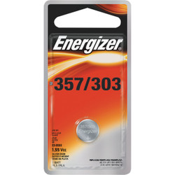 Energizer 357/303 Silver Oxide Button Cell Battery (3-Pack) 357BPZ-3