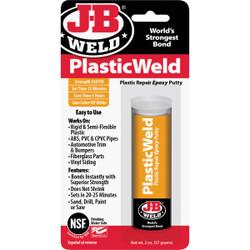 J-B Weld 2 Oz. PlasticWeld Epoxy Putty 8237