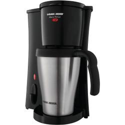 Black & Decker Brew N' Go Personal Black Coffee Maker DCM18S