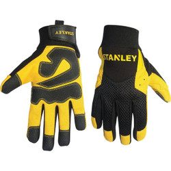 Stanley Men's Large Synthetic Leather High Performance Glove S77611