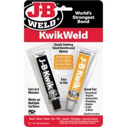 J-B Weld (2) 1 Oz. KwikWeld Epoxy 8276