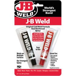 J-B Weld (2) 1 Oz. Original ColdWeld Epoxy 8265-S