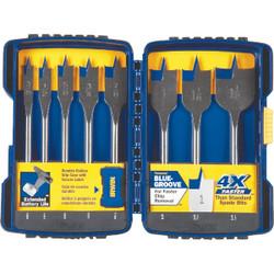 Irwin Speedbor 8-Piece Spade Bit Set IWAX128PC