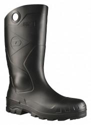 Dunlop Rubber Boot,Unisex,6,Knee,Black,PR HAWA 86776