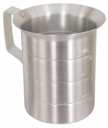 Crestware Measuring Cup,Aluminum,1 qt. Liquid  MEA01