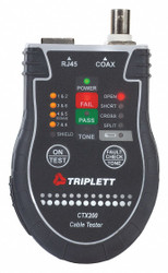 """Byte Brothers Network Cable Tester,9""""H x 7""""W x 1-3/4""""D HAWA Pocket CAT"""
