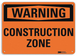 Lyle Warning Sign,10 inx14 in,Aluminum HAWA U6-1045-RA_14X10