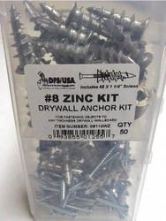 Dfs Zinc Wall Driller Kit,No. 8  08114WZ