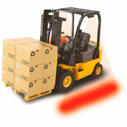 The Forklift Side Spotter by Ideal Warehouse Pedestrian Warning Forklift Truck S