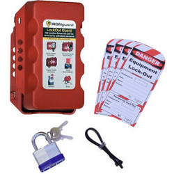 Ideal Warehouse Forklift Lock-Out Guard Kit 70-1187