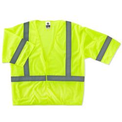 8310HL S/M Lime Type R Class 3 Economy Vest
