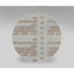 3M Hookit Microfinishing Film Type D Disc 268L, 5 in x NH 100 Micron