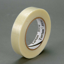 Tartan Filament Tape 8934 Clear, 12 mm x 55 m, 72 rolls per case