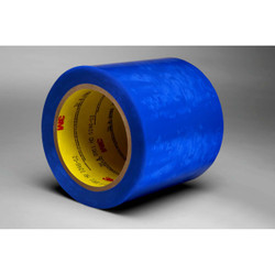 3M Polyester Tape 8901 Blue Plastic Core, 2 in x 72 yd, 24 per case
