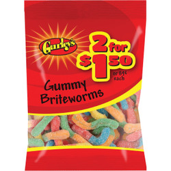 Gurley's Sour 2.75 Oz. Briteworms 19065 Pack of 12