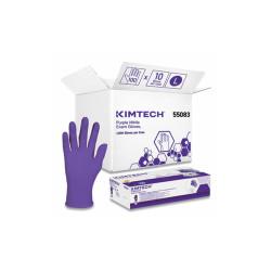 PURPLE NITRILE Exam Gloves, 242 mm Length, Large, Purple, 1000/Carton 55083CT