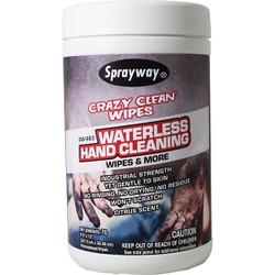 Sprayway® Crazy Clean Wipes