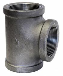 Anvil Tee,Black Malleable Iron,150,3/8 In.,NPT HAWA 0310029608