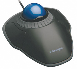 Kensington Trackball Mouse,Corded,Optical,Blck/Blue HAWA K72337US