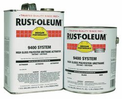 Rust-Oleum Finish/Primer Activator Kit,Black,Poly HAWA 9479402-HS1402