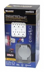 Reliance Power Inlet Box,L14-30 NEMA,Plastic  WKPBN30