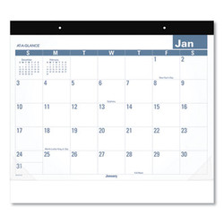 Easy-to-Read Monthly Desk Pad, 22 x 17, Easy-to-Read, 2021 SKLP2432