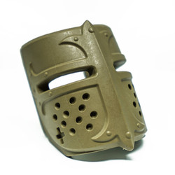 Mako MOJO-CAVG-FDE Mako Mojo Replaceable Deco Cavalier - Medieval Helmet FDE