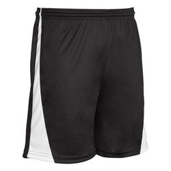Champro SS30ABWXL Champro Adult Sweeper Soccer Shorts Black White Extra Large