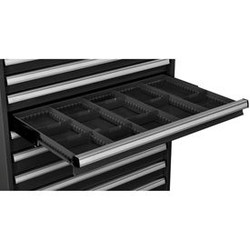 "Global Industrial Dividers for 3""H Drawer of Modular Drawer Cabinet 36""Wx24""D, B"