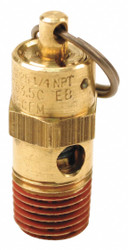 """Control Devices Air Safety Valve,1/4"""" Inlet, 275 psi HAWA SA25-1A275"""