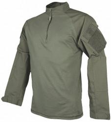Tru-Spec Combat Shirt,XL Size,Ranger Green HAWA 2514