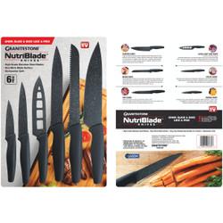GraniteStone NutriBlade Knife Set (6-Piece) 7665