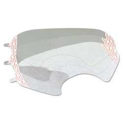 6000 Series Full-Facepiece Respirator-Mask Faceshield Cover, Clear 6885