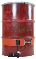 """Briskheat Silicon Rubber Heater,120V,4"""" H,5.8A AC HAWA DHCS11R"""