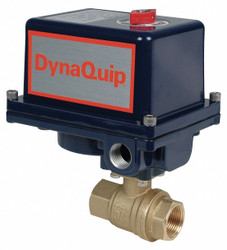 Dynaquip Controls Ball Valve,Electronic ,1/2 In FNPT HAWA EHG23ATE20