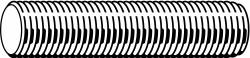 Fabory Threaded Rod,Steel,9/16-18x2 ft HAWA U20365.056.2400