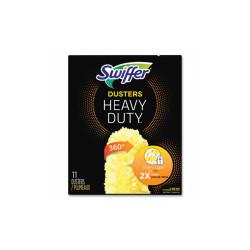 """Heavy Duty Dusters Refill, Dust Lock Fiber, 2"""" x 6"""", Yellow, 33/Carton 99035"""