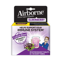 Immune Support Effervescent Tablet, Elderberry, 20 Count 90378
