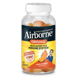 Immune Support Gummies, Zesty Orange, 63/Bottle 96339