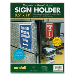 Acrylic Sign Holder, 8 1/2 x 11, Clear 37085