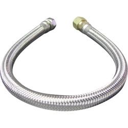 B&K 3/8 In. F X 3/8 In. OD X 12 In. L Stainless Steel Faucet Connector 496-071